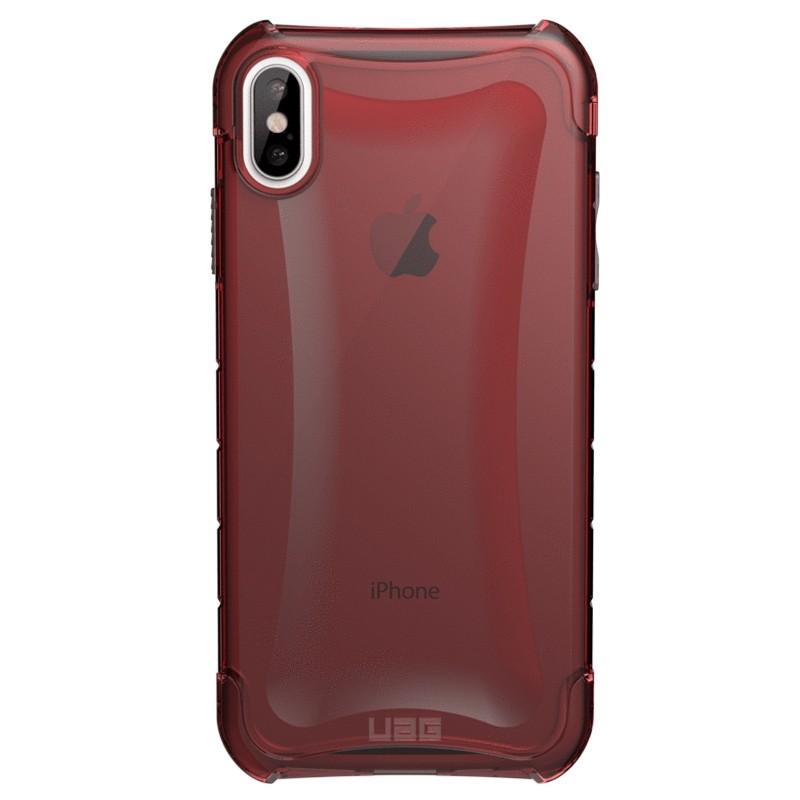UAG Plyo iPhone XS Max Hoesje Crimson Red 01