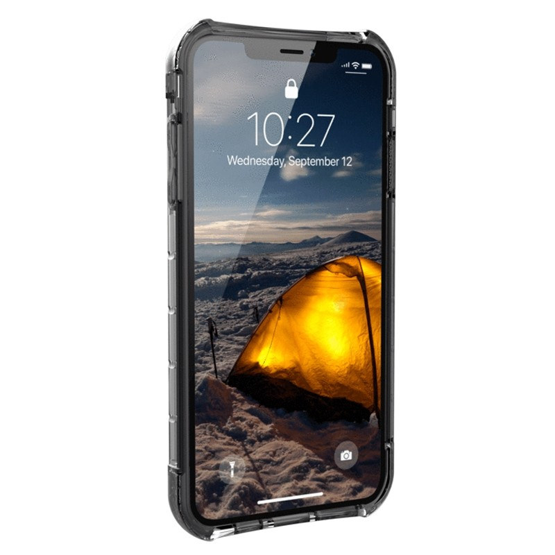 UAG Plyo iPhone XS Max Hoesje Ice Clear 02