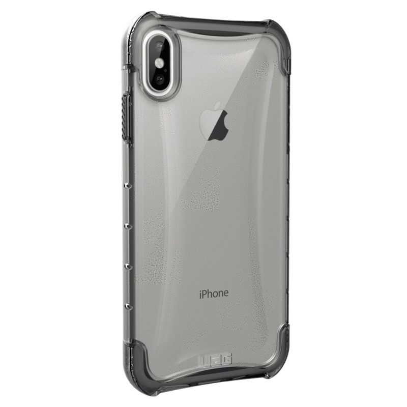 UAG Plyo iPhone XS Max Hoesje Ice Clear 04