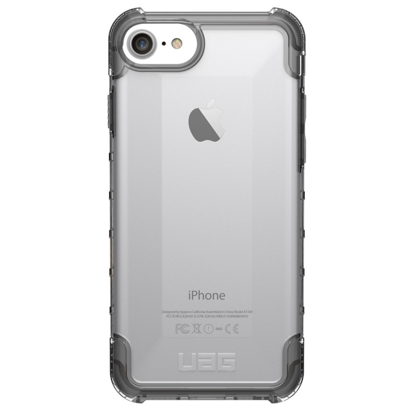 UAG Plyo Hard Case iPhone 8 / iPhone 7S / iPhone 6S / iPhone 6 Ice Clear 01