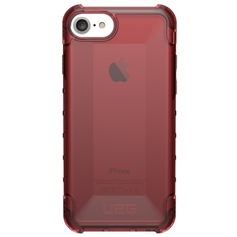 UAG Plyo Hard Case iPhone 8 / iPhone 7S / iPhone 6S / iPhone 6 Crimson Red 01