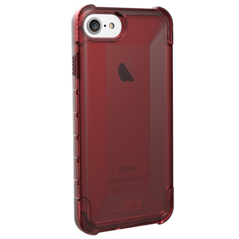 UAG Plyo Hard Case iPhone 8 / iPhone 7S / iPhone 6S / iPhone 6 Crimson Red 02