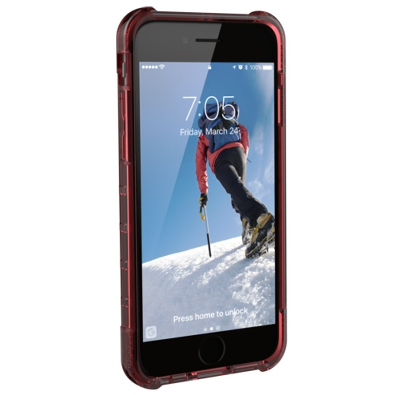 UAG Plyo Hard Case iPhone 8 / iPhone 7S / iPhone 6S / iPhone 6 Crimson Red 04