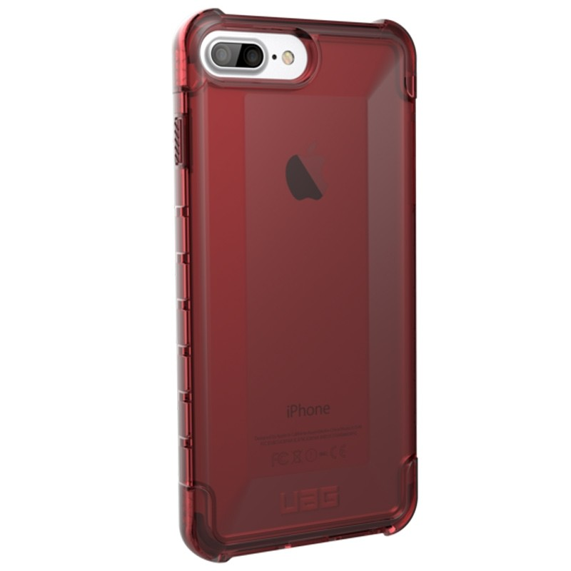 UAG Plyo iPhone 8 Plus / 7 Plus / 6S Plus / 6 Plus Crimson Red 02