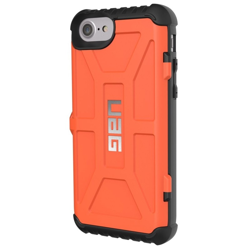 UAG - Trooper iPhone 6 / 6S / 7 hoesje met pasjes Rust Orange 04
