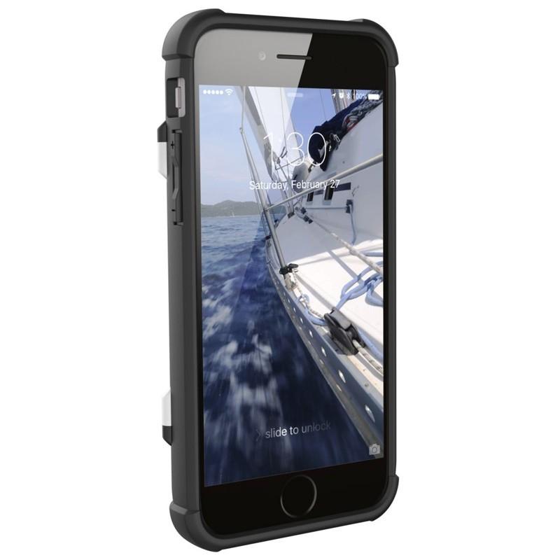 UAG - Trooper iPhone 6 / 6S / 7 hoesje met pasjes wit 05