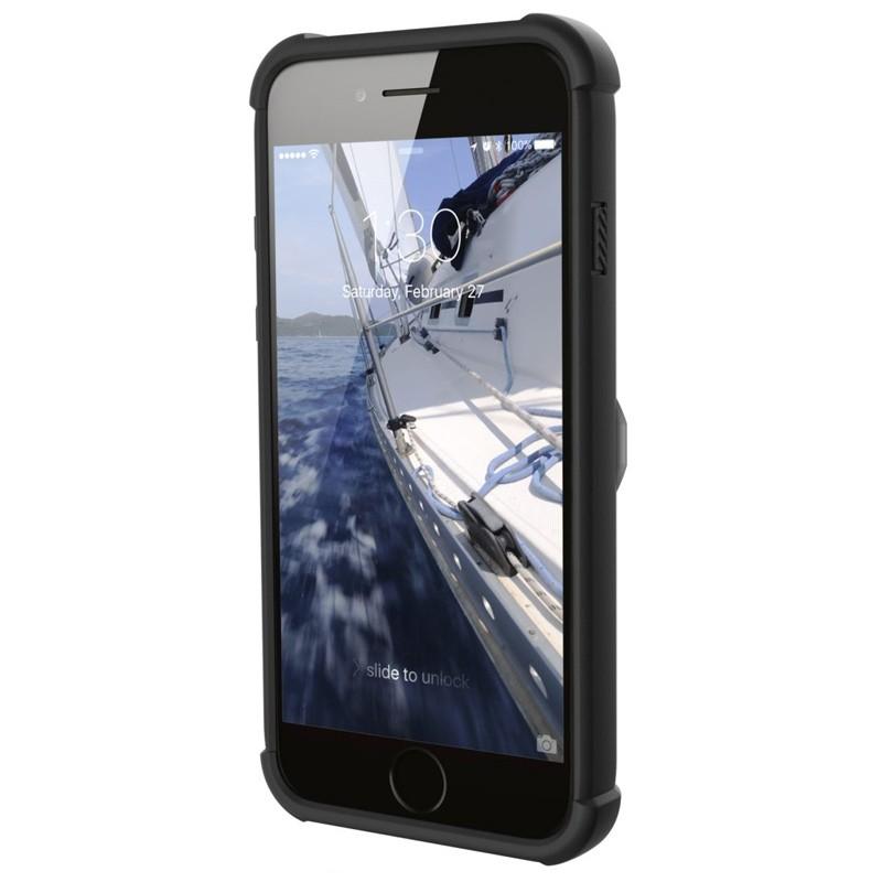UAG - Trooper iPhone 6 / 6S / 7 hoesje met pasjes wit 06