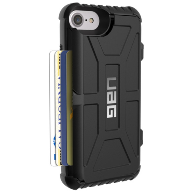 UAG Trooper Card Case iPhone 7 Black - 2