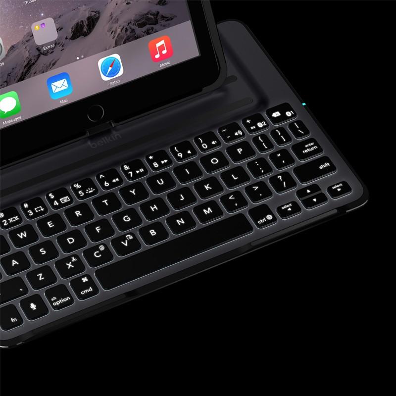 Belkin Ultimate Keyboard Case Pro iPad Air 2 Black - 7