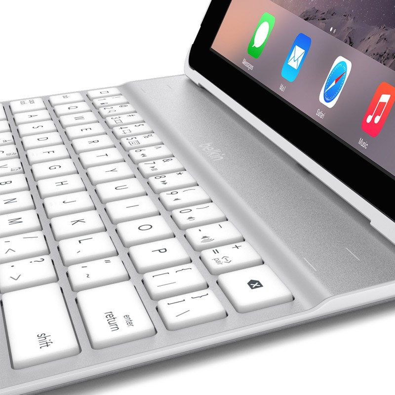 Belkin Ultimate Keyboard Case iPad Air 2 White - 4