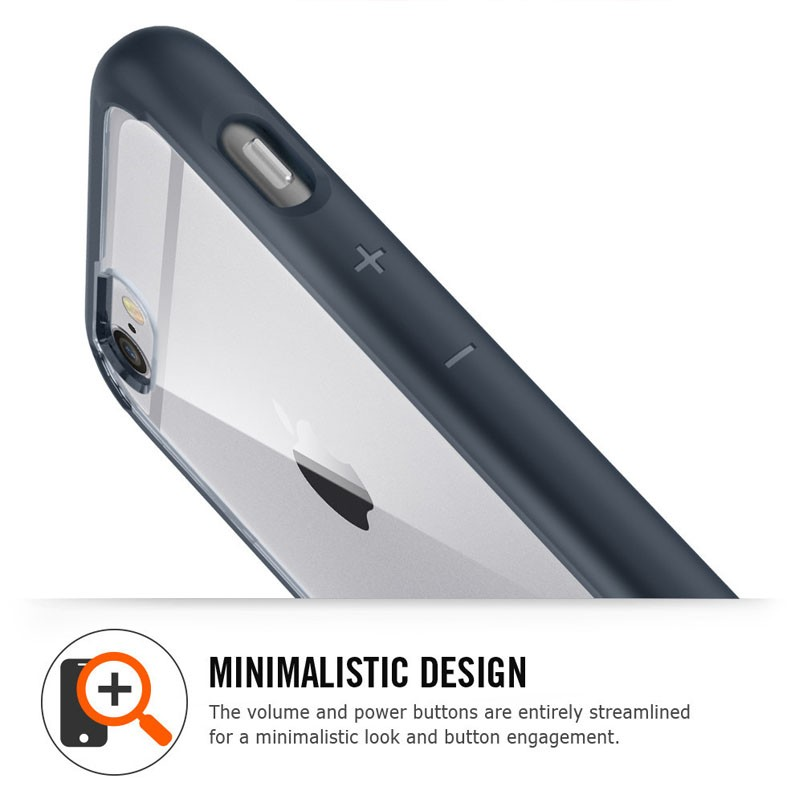 Spigen Ultra Hybrid Case iPhone 6 Black - 5