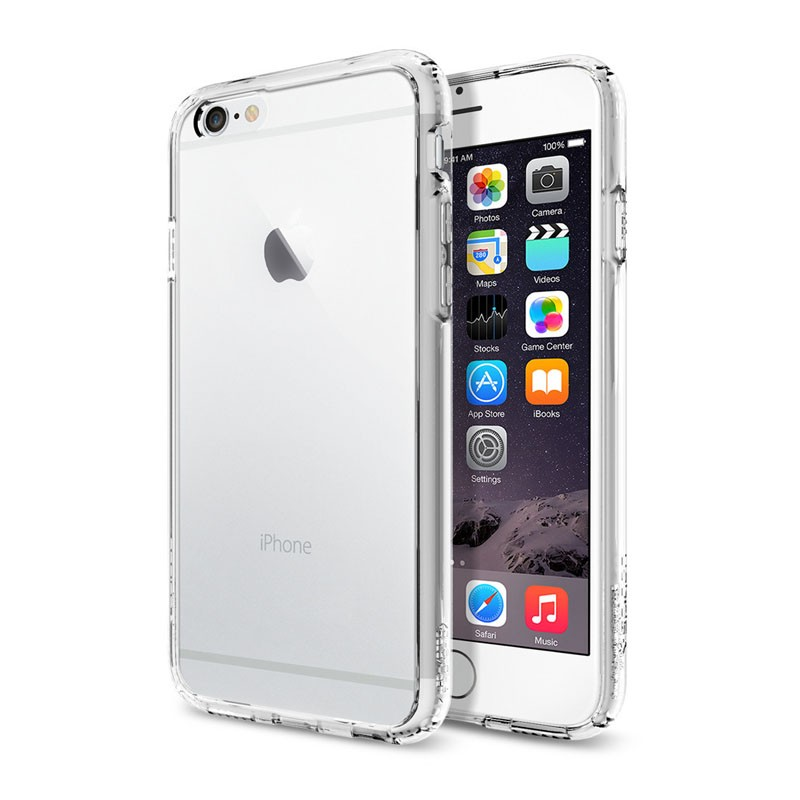 Spigen Ultra Hybrid Case iPhone 6 Clear - 1