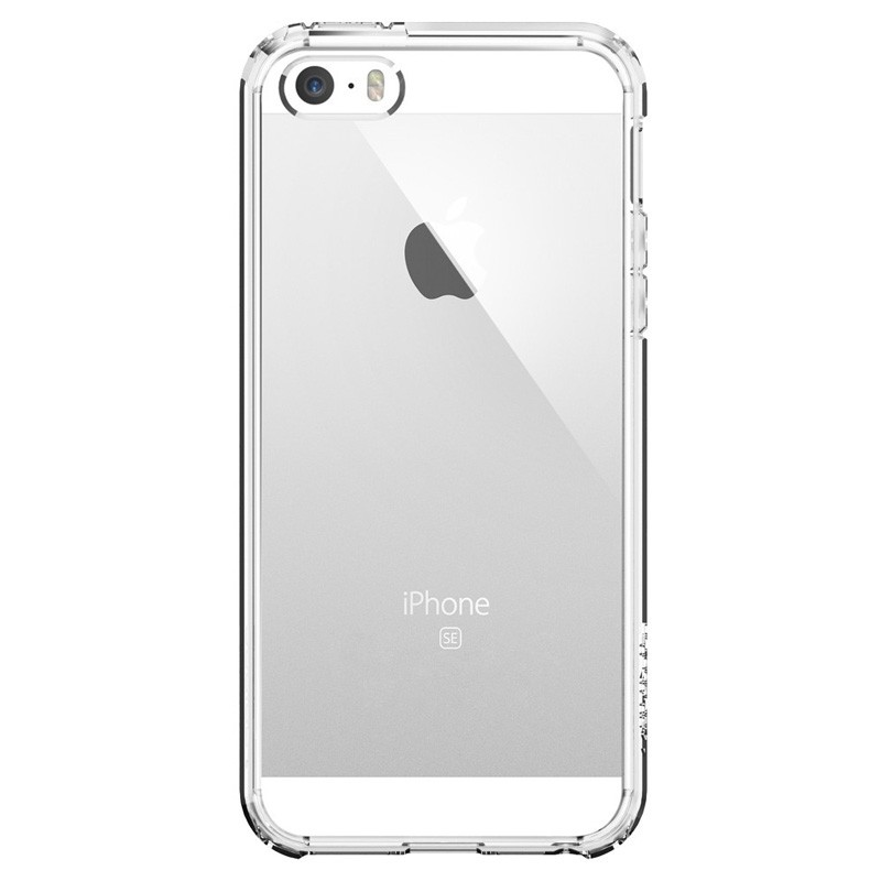 Spigen Ultra Hybrid Case iPhone SE / 5S / 5 Clear - 1