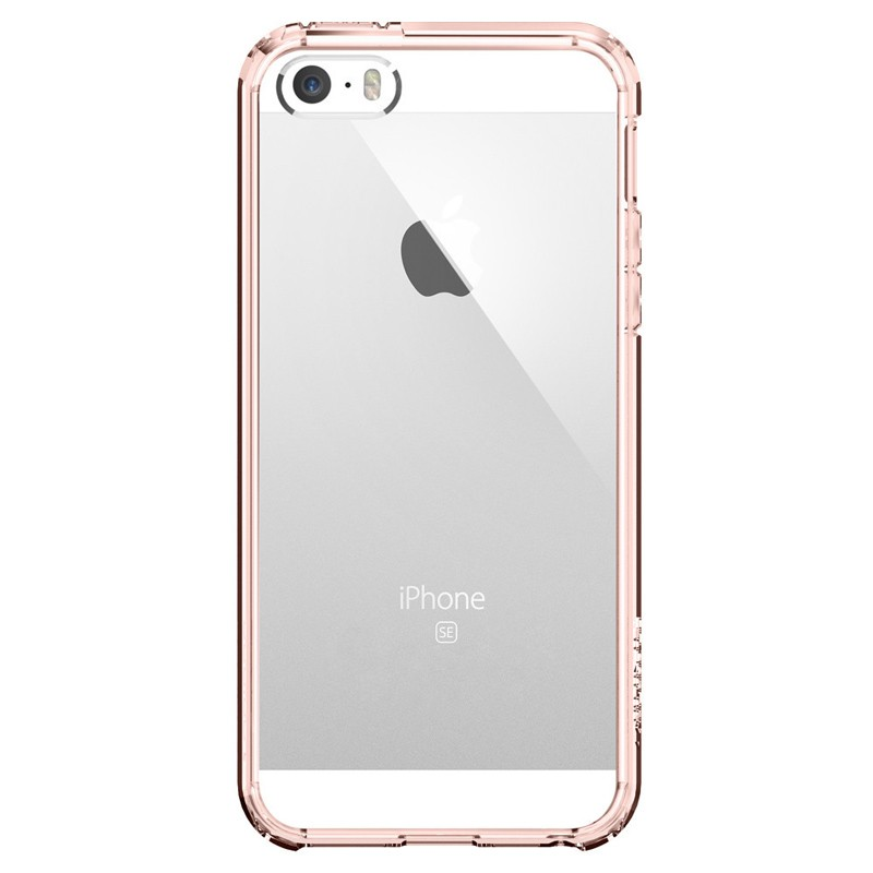 Spigen Ultra Hybrid Case iPhone SE / 5S / 5 Rose Gold - 1