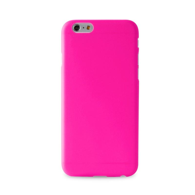 Puro UltraSlim Backcover iPhone 6 Plus Pink - 1