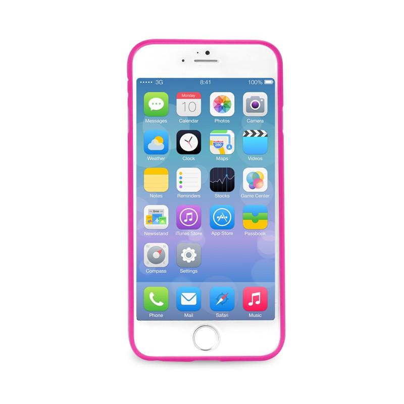 Puro UltraSlim Backcover iPhone 6 Plus Pink - 2