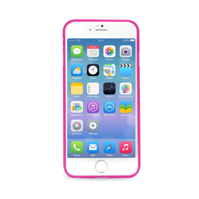 Puro UltraSlim Backcover iPhone 6 Pink - 2