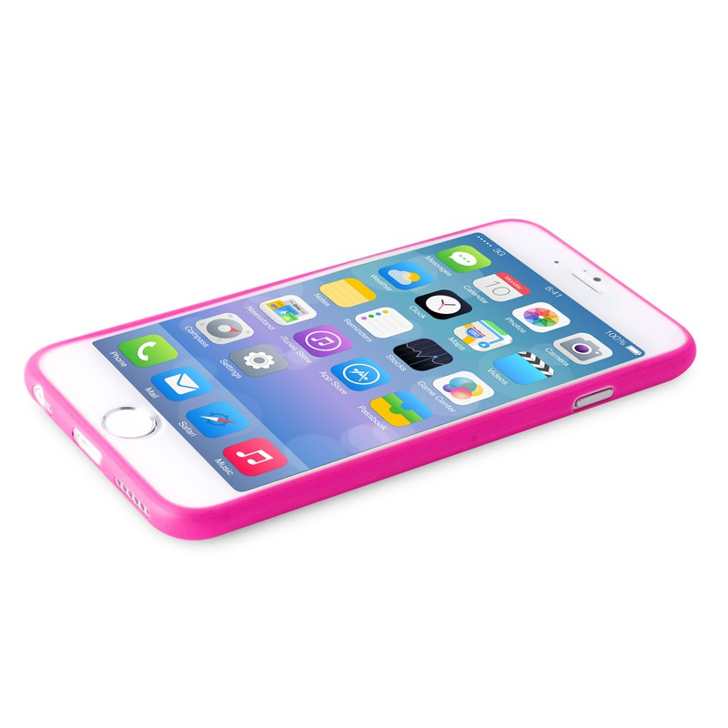 Puro UltraSlim Backcover iPhone 6 Plus Pink - 7