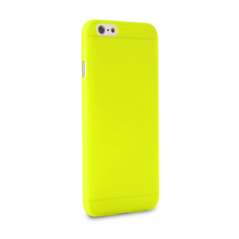 Puro UltraSlim Backcover iPhone 6 Plus Yellow - 4
