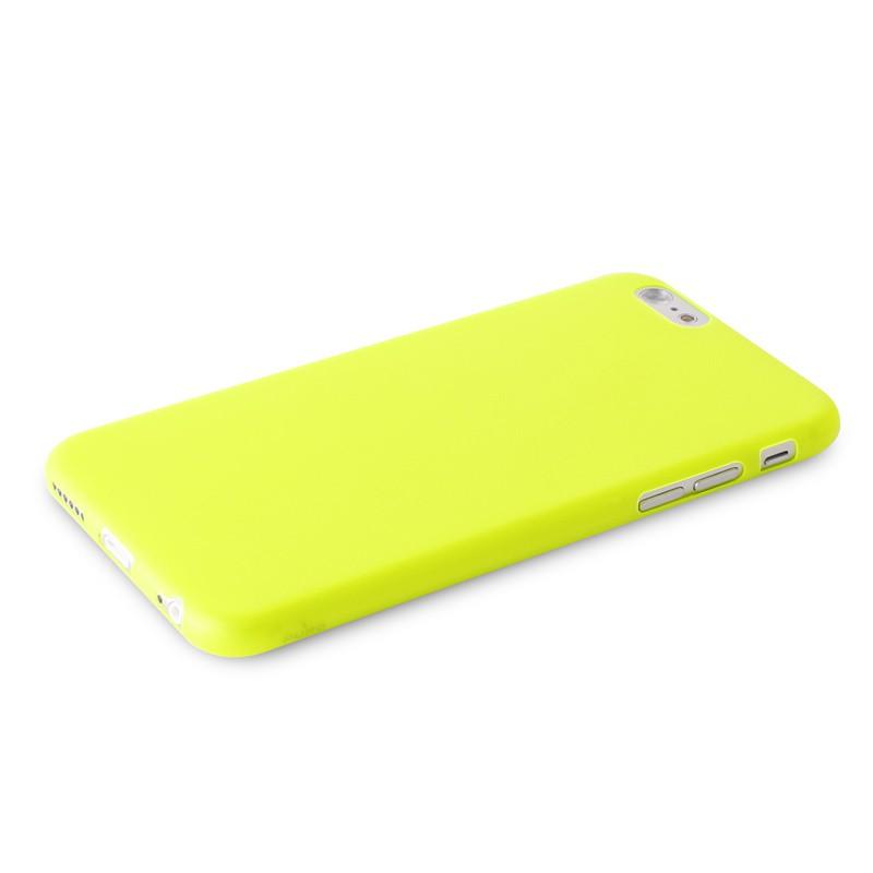 Puro UltraSlim Backcover iPhone 6 Plus Yellow - 5