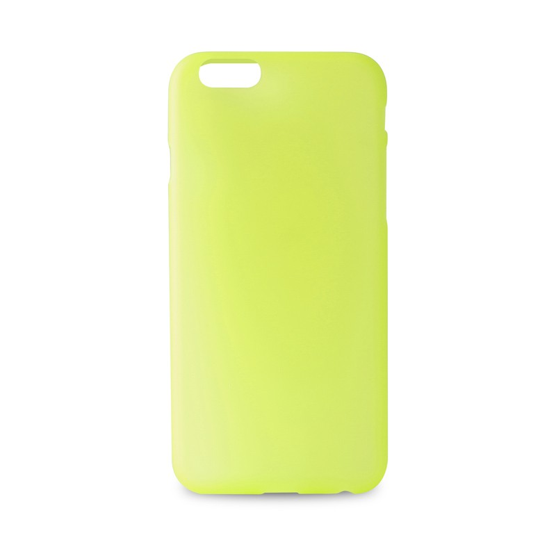 Puro UltraSlim Backcover iPhone 6 Yellow - 6