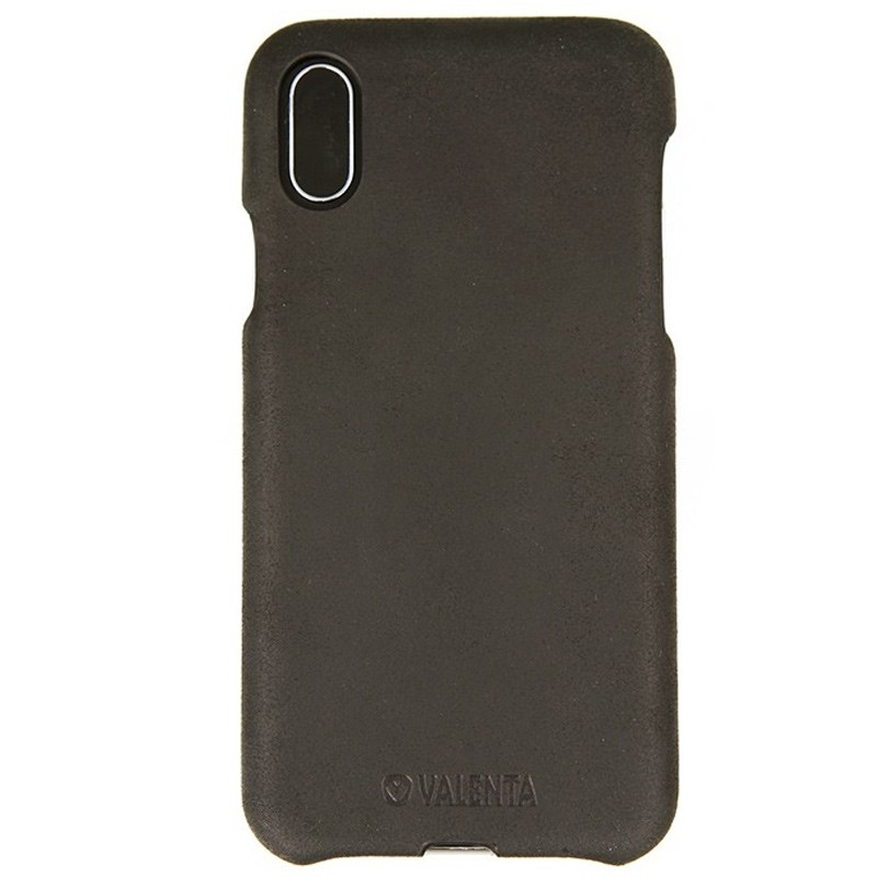 Valenta Back Cover Classic iPhone X Vintage Black - 1