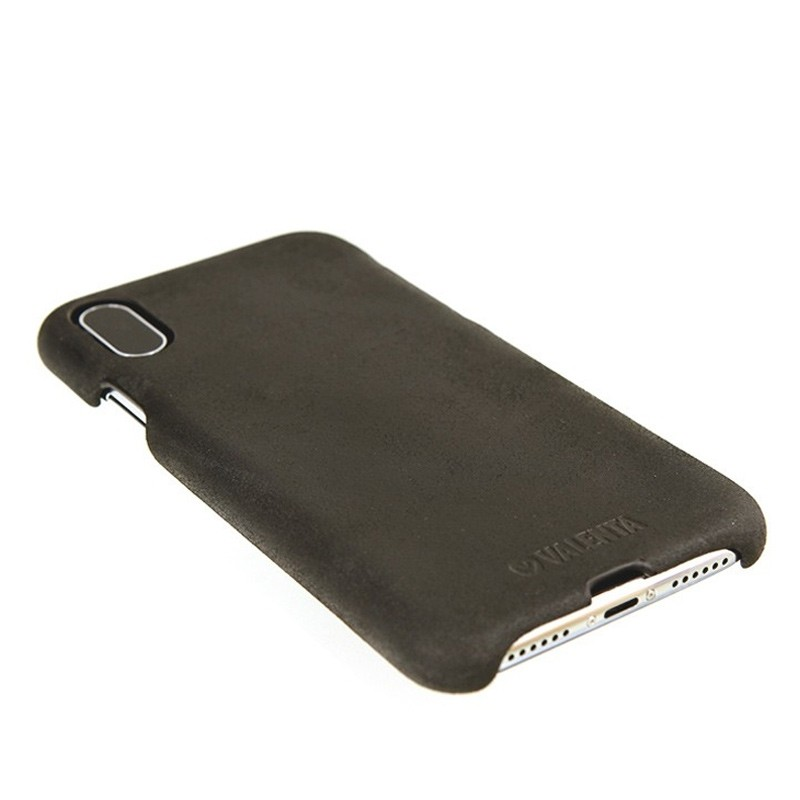 Valenta Back Cover Classic iPhone X Vintage Black - 4