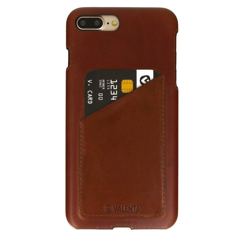 Valenta Back Cover Classic Luxe iPhone 7 Plus Brown - 1