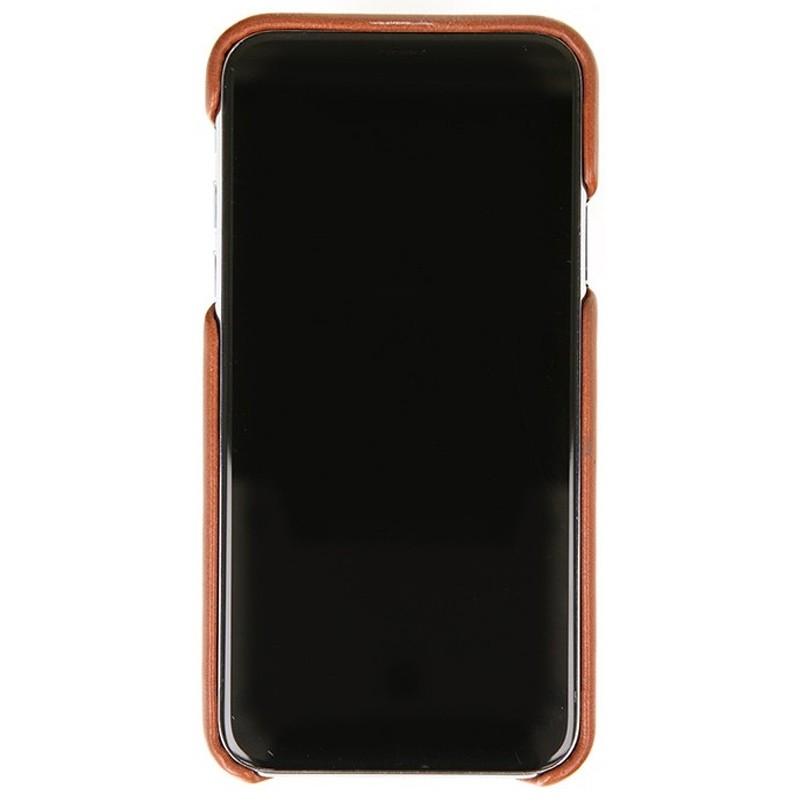 Valenta Back Cover Classic Luxe iPhone X/Xs Brown - 2