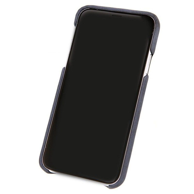Valenta Back Cover Classic Luxe iPhone X/Xs Vintage Blue - 3