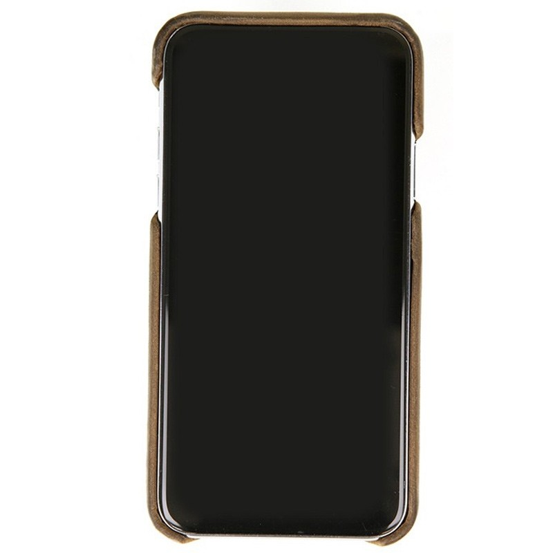 Valenta Back Cover Classic Luxe iPhone X Vintage Brown - 2