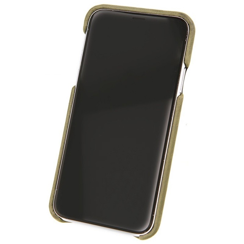 Valenta Back Cover Classic Luxe iPhone X Vintage Green - 3
