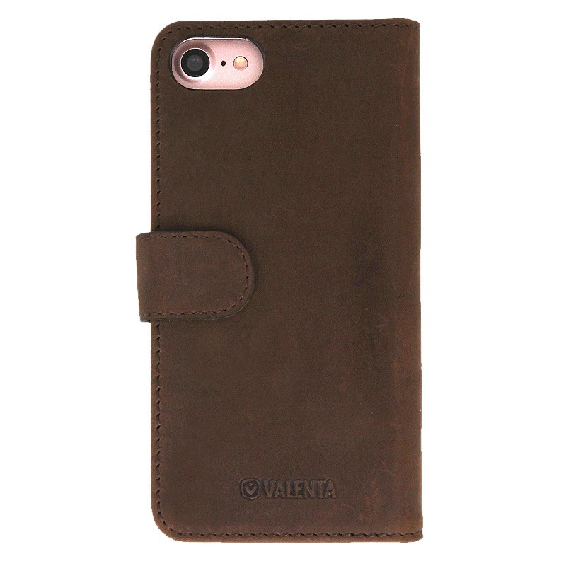 Valenta Book Cover Classic Luxe iPhone 7 Vintage Brown - 3