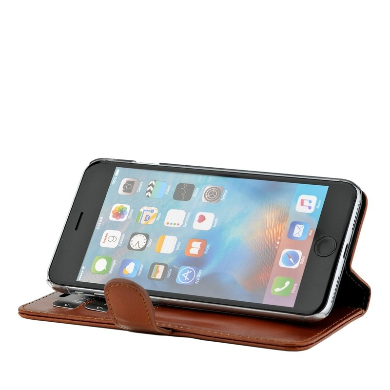 Valenta Booklet Classic Luxe iPhone 8/7 brown 04