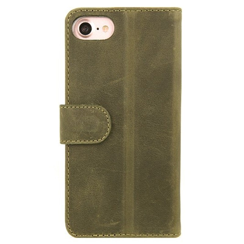 Valenta Booklet Classic Luxe iPhone 8/7 vintage green 02
