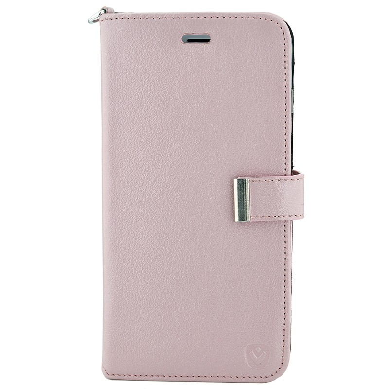 Valenta - Premium Booklet iPhone 8 Plus/7 Plus rose gold 01