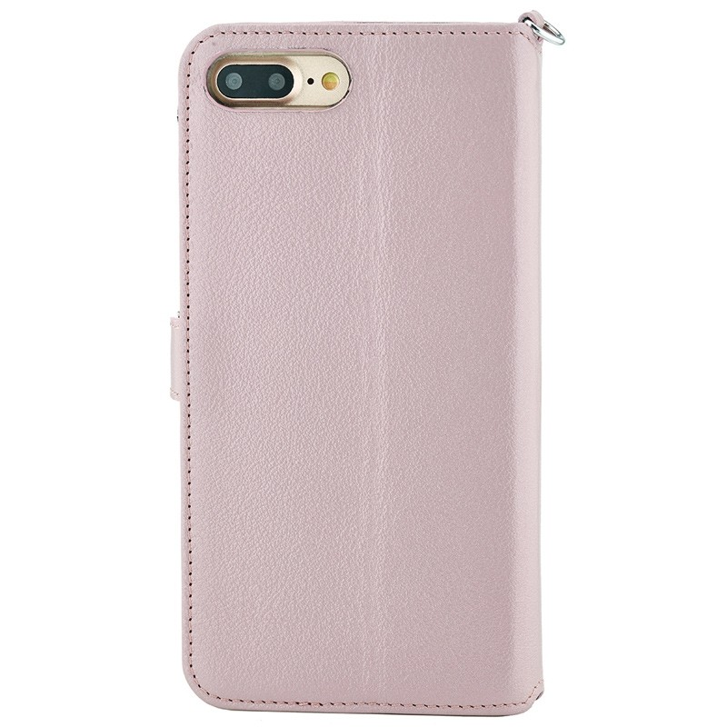 Valenta - Premium Booklet iPhone 8 Plus/7 Plus rose gold 02