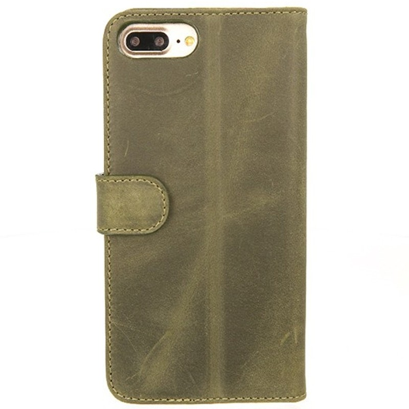 Valenta - Booklet Classic Luxe iPhone 8 Plus/7 Plus vintage green 02