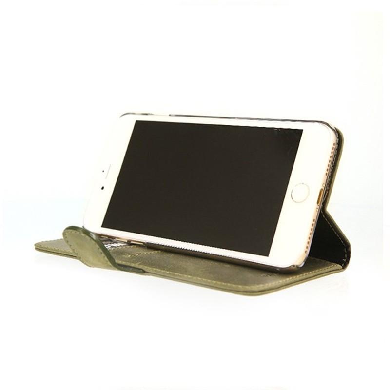 Valenta - Booklet Classic Luxe iPhone 8 Plus/7 Plus vintage green 04