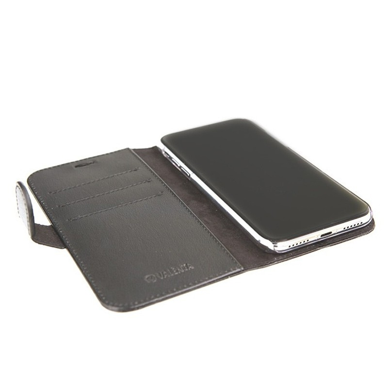 Valenta Booklet Classic Luxe iPhone X/Xs Black - 5