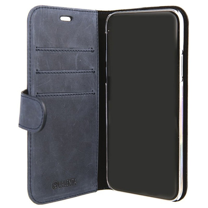 Valenta Booklet Classic Luxe iPhone X/Xs Vintage Blue - 3