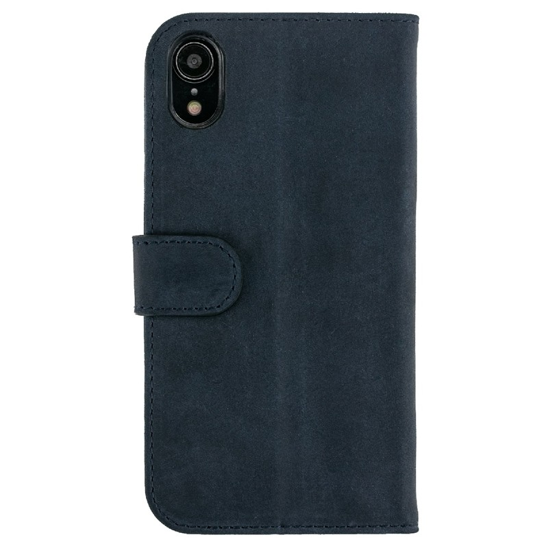 Valenta Booklet Classic Luxe iPhone XR Vintage Blue 02