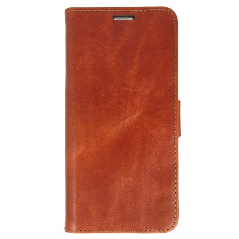 Valenta Booklet Classic Luxe iPhone XS Max Hoesje Bruin 01