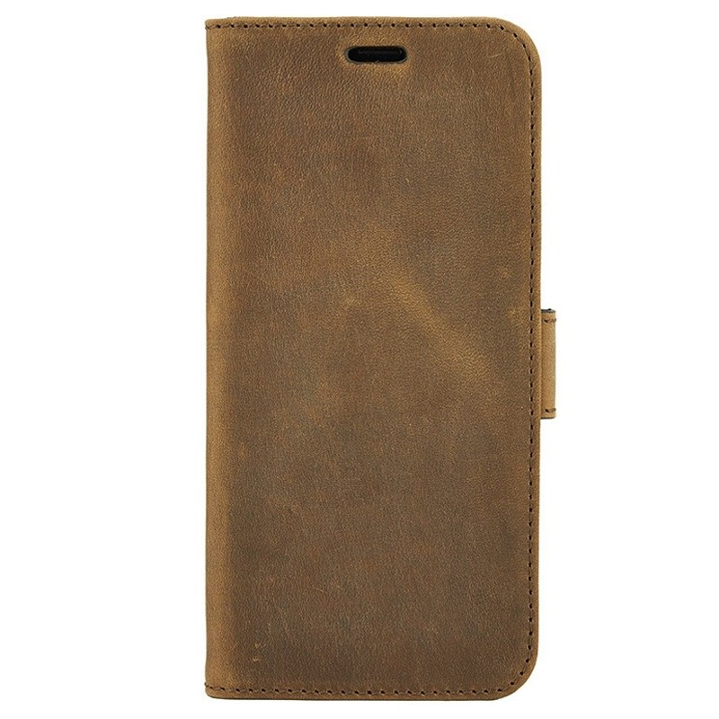 Valenta Booklet Classic Luxe iPhone XS Max Hoesje Vintage Bruin 01