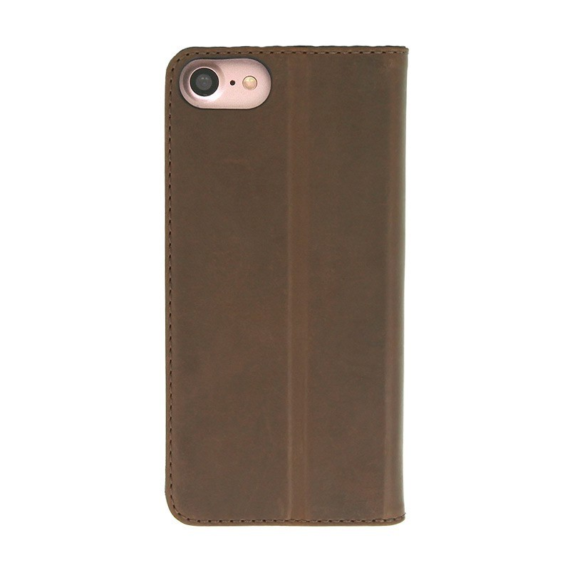 Valenta Book Cover Classic Style iPhone 7 Vintage Brown - 3