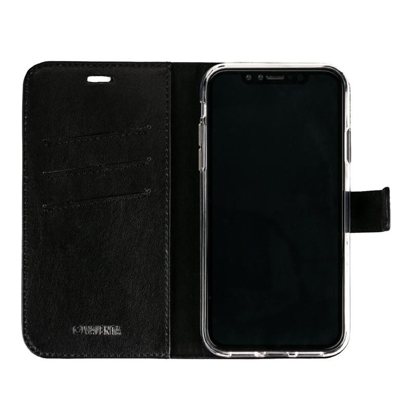 Valenta Booklet Leather Gel Skin iPhone XR Zwart 03