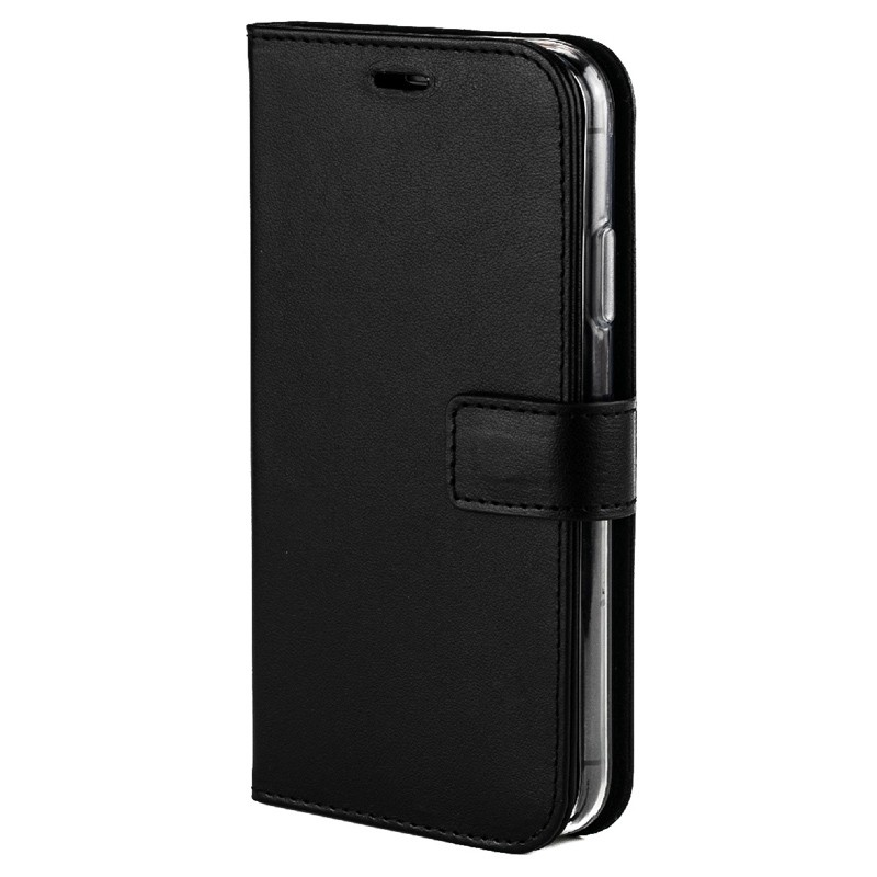 Valenta Booklet Leather Gel Skin iPhone XR Zwart 04