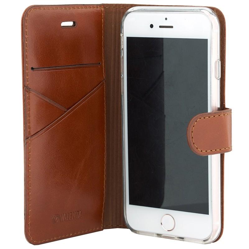 Valenta Premium Booklet iPhone 8/7 brown 03