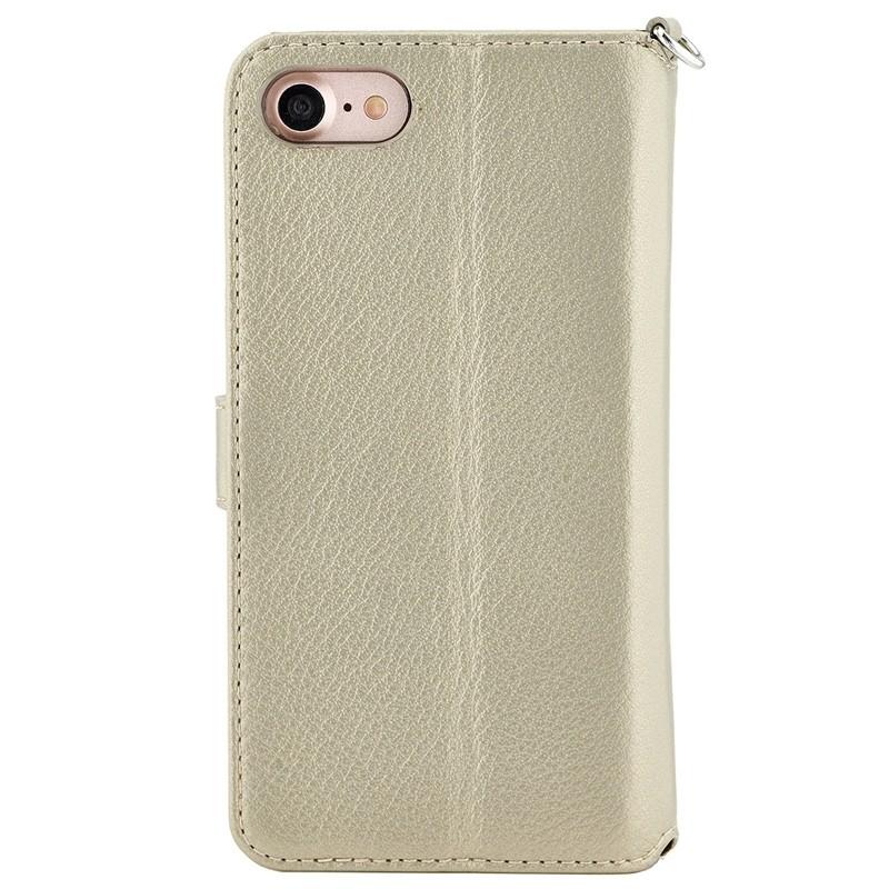 Valenta Premium Booklet iPhone 8/7 gold 02