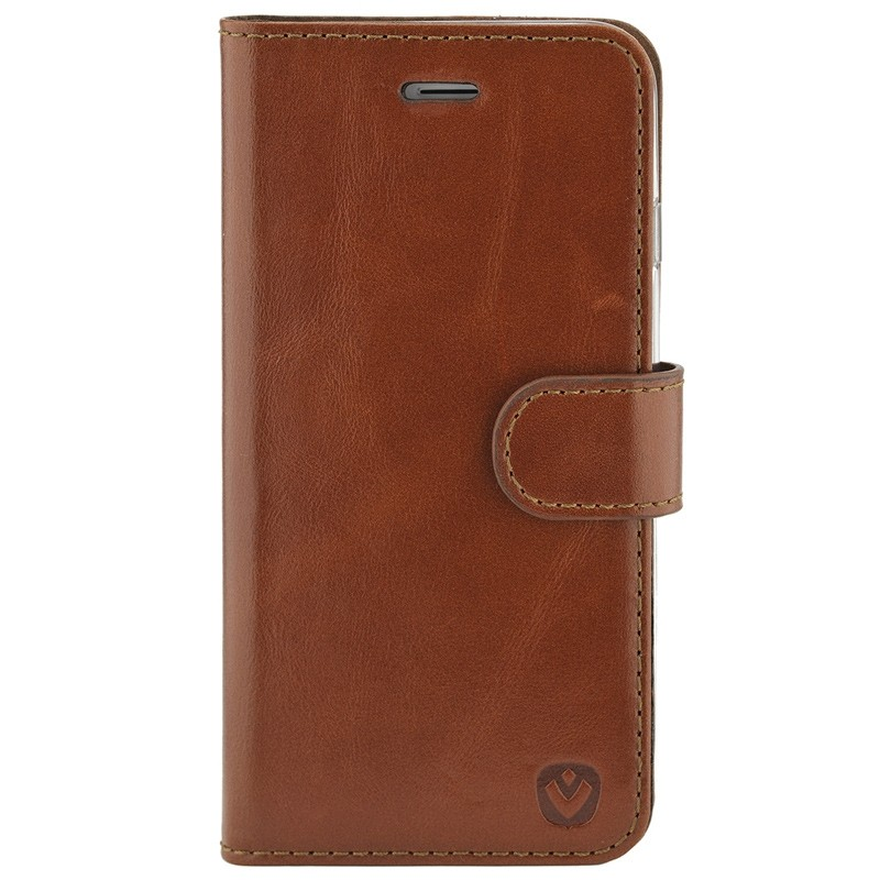 Valenta - Premium Booklet iPhone 8 Plus/7 Plus brown 01